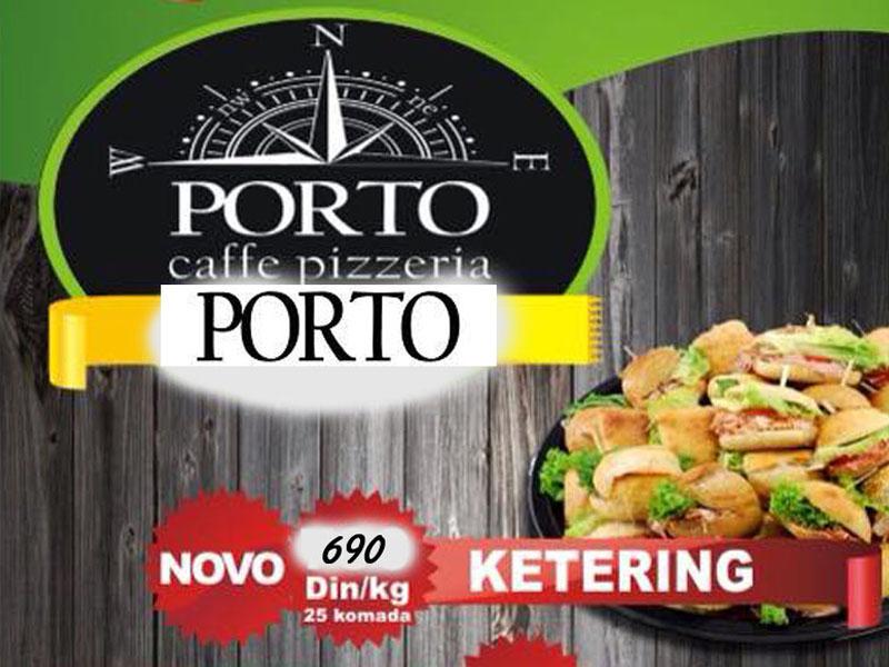 690 din. umesto redovne cene od 990 din. za1kg mini sendviča (25 kom.) picerije Porto, Hadži Ruvimova 42 Novi Sad.  Pripremiti i organizovati bilo koju vrstu zabave, rođendana ili žurke predstavlja mnogo obaveza... treba prilagoditi prostor, pripremiti muziku, obezbediti posluženje, da oduscaronevite goste. Za sve gurmane ukusno, kvalitetno, a u malim zalogajima. Pizzerija Porto će Vam pomoći da bar o hrani ne brinete, na Vama je samo da se pozabavite dobrim raspoloženjem. Ukusni Sendviči za žurke i rođendane, sedeljke i gledanje utakmica sa prijateljima Jedan kilograma - ukupno 25 sendviča Obavezna je najava 2-3 dana unapred Preuzimanje u Pizzeriji Porto Ponuda podrazumeva: 1kg mini sendviča ndash 25kom Sendviči su sa kulenom, pečenicom ili scaronunkom, po vascaronem izboru. Ako želite sendviči mogu da budu punjeni i piletinom ili tunjevinom.