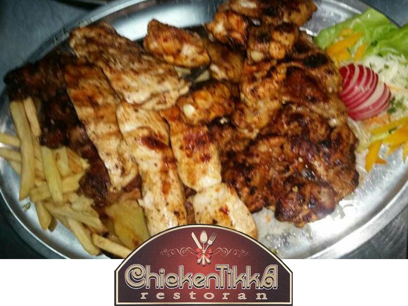 30% popusta (874 din. umesto redovne cene od 1.249 din.)zaPileći vozza Dve osobe --Chicken Tikka--(1,2kg.) + prilog-u restoranu