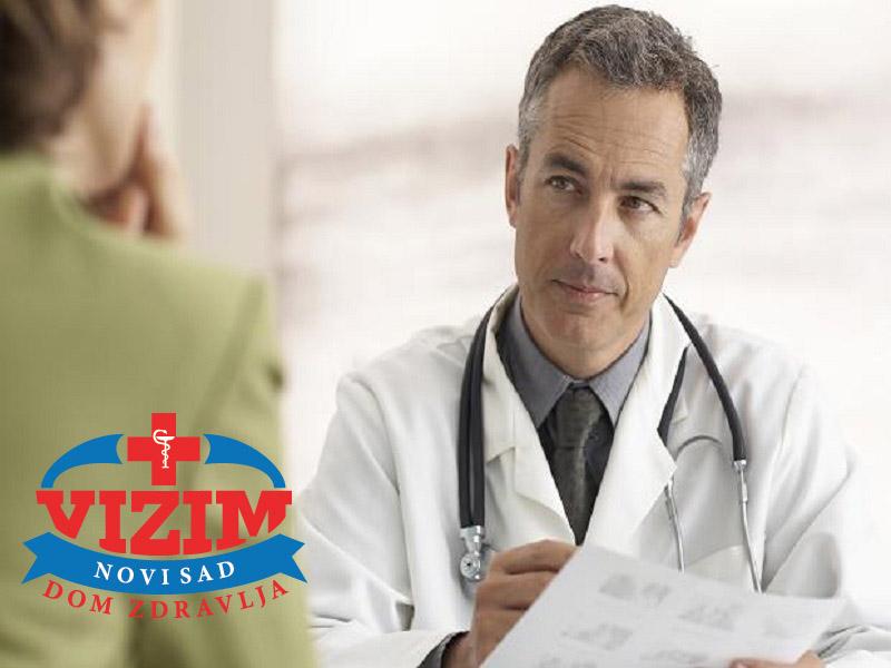 3490 din. umesto redovne cene od 6000 din. zaPregled specijaliste interne medicine + EKG + UZV srca u Domu zdravlja