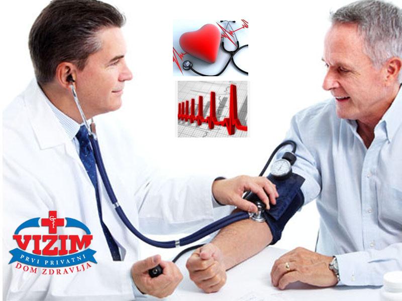 1490 din. umesto redovne cene od 3500 din. zaPregled specijaliste interne medicine i EKG u Domu zdravlja