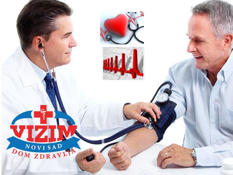 1390 din. umesto redovne cene od 3500 din. zaPregled specijaliste interne medicine i EKG u Domu zdravlja