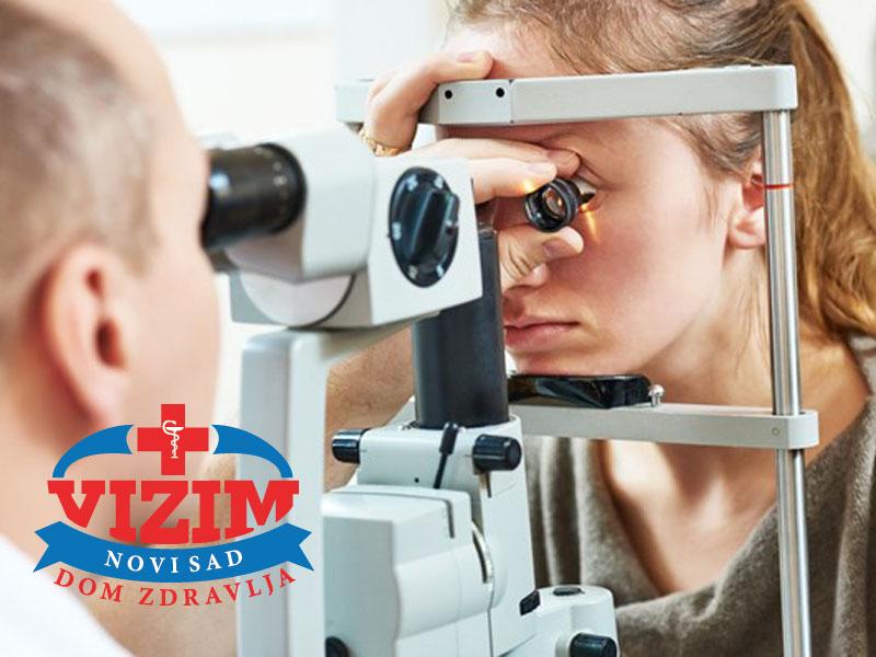 1190 din. umesto redovne cene od 3000 din. zaKompletan oftalmoloscaronki pregledu Domu zdravlja